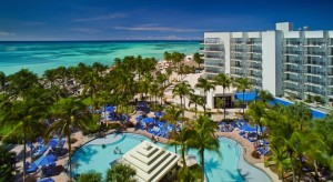 a picture of the Aruba Marriott Resort & Stellaris Casino at Palm Beach Aruba