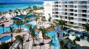 a picture of the marriot aruba ocean club at palm beach Aruba