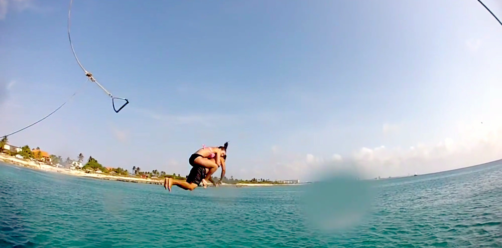 aruba skydiving jetskis snorkeling video, part of best Aruba videos