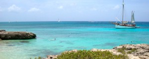 a picture of malmok beach aruba