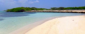 a picture of the beach at santo largo