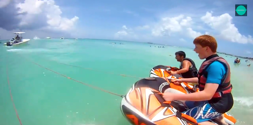 water tubing in aruba, part of best Aruba videos
