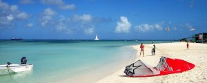 a picture of hadicurari beach in aruba