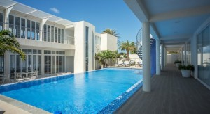 a picture of the ocean z boutique hotel at malmok beach aruba