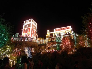 Christmas in Aruba lights of seroe preto