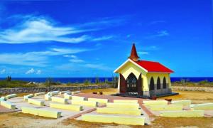 a picture of the alto vista chapel in aruba
