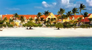 a picture of the manor beach resort in aruba