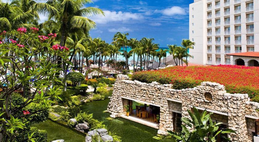 a picture of the hyatt regency aruba resort and casino in aruba
