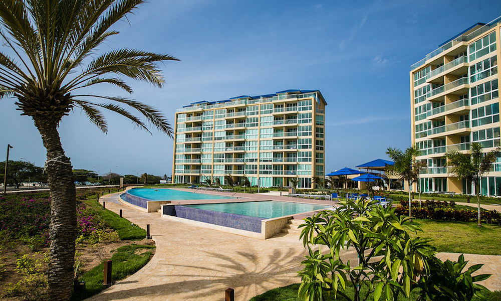 a picture of the Blue Residences Condominium Resort in Aruba