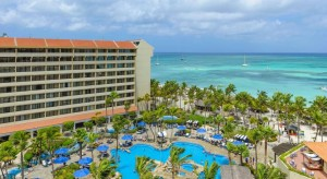 a picture of the occidental resort, one of the best all inclusive resorts in Aruba