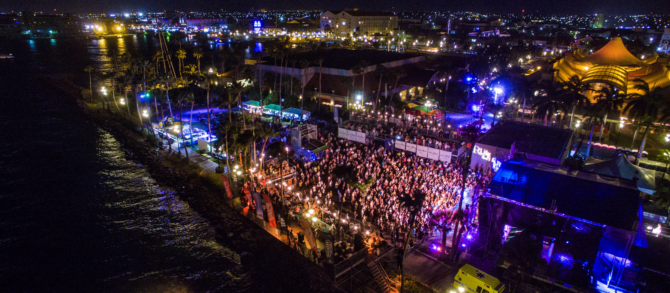 a picture of the aruba jazz festival 2015
