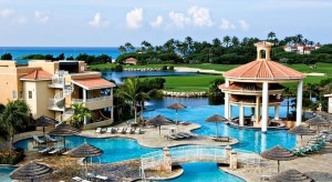 a picture of divi village golf and beach resort, one of the best all inclusive resorts in the Dutch Caribbean