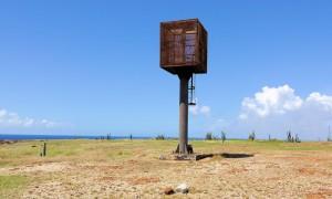 a picture of the seroe colorado lighthouse in aruba