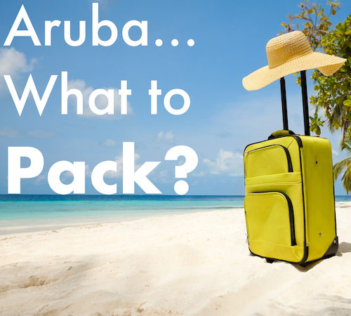 aruba what to pack