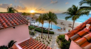 a picture of the frangipani beach resort in anguilla