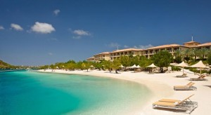 a picture of the Santa Barbara Beach & Golf Resort in Curaçao, one of the best all inclusive resorts in the Dutch Caribbean