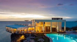 a picture of the sonesta ocean point resort in sint maarten, one of the best all inclusive resorts in the Dutch Caribbean
