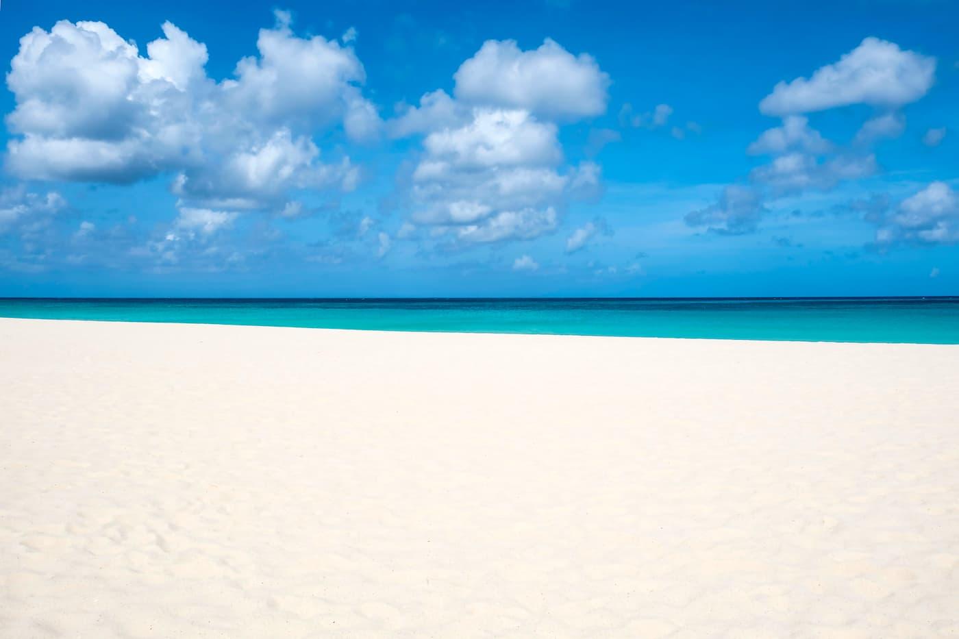Manchebo Beach, Aruba. A perfect slice of Caribbean paradise.