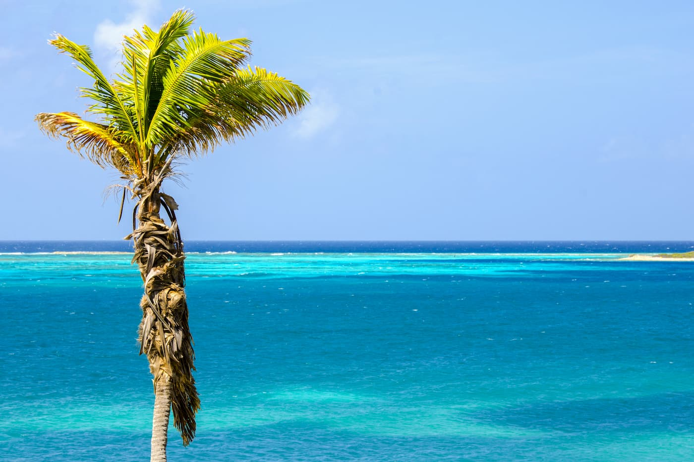 Sweeping views at Rodgers Beach, Aruba.